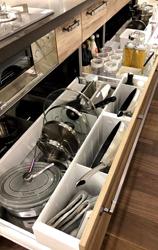 キッチンの使い方が一目で分かる収納スタイリング